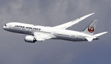 Japan Airlines Boeing 787