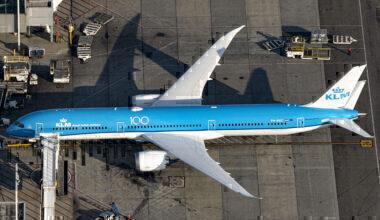 KLM boeing 787