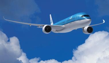 KLM A350