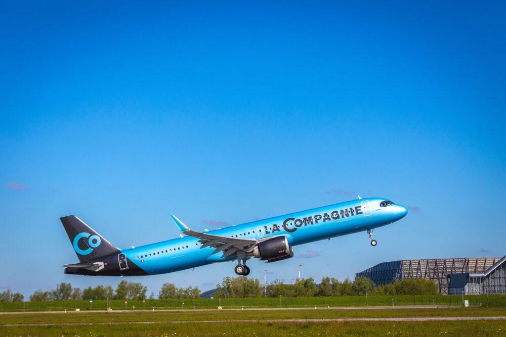 La Compagnie's first A321neo_
