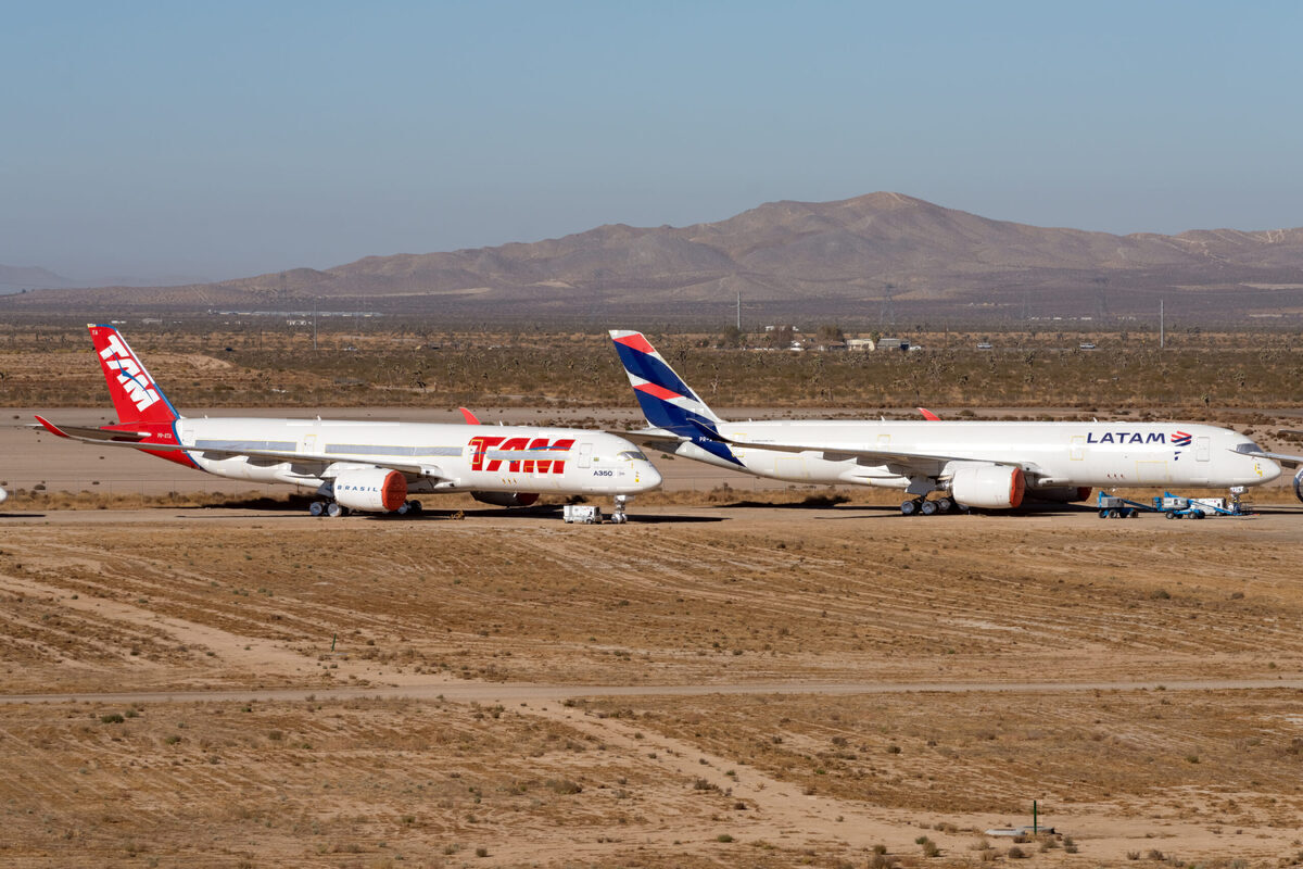 LATAMs A350