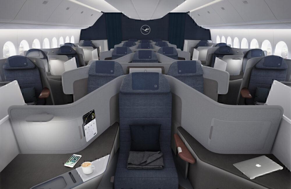 Lufthansa business 777X