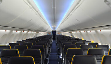 Ryanair cabin