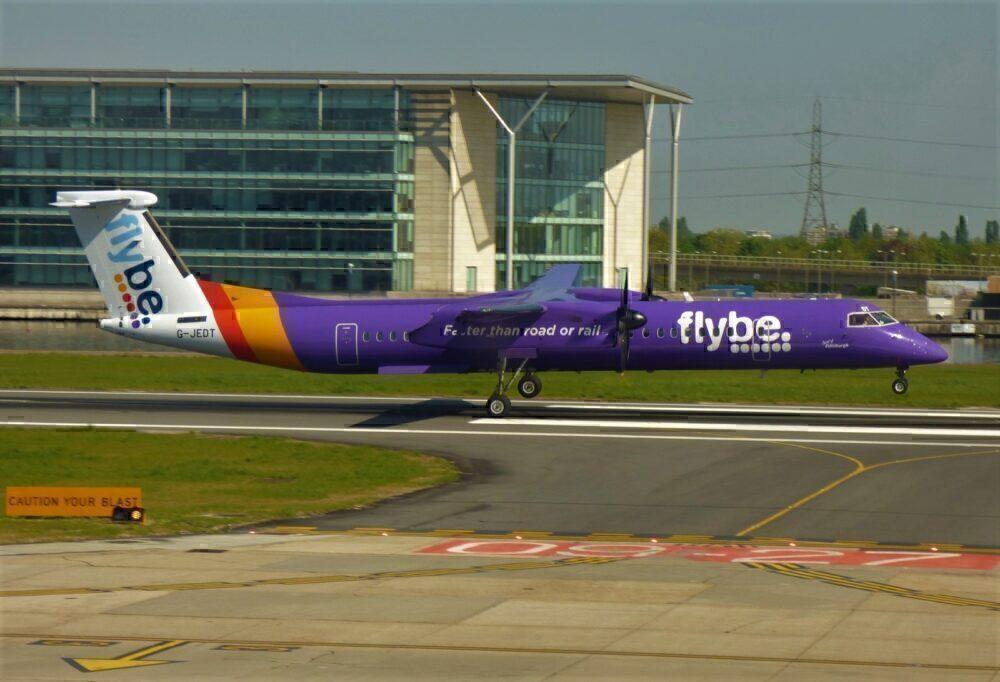 Flybe Dash 8 London City