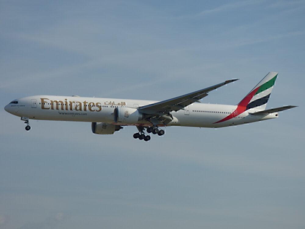 Emirates Boeing 777-300ER Frankfurt International