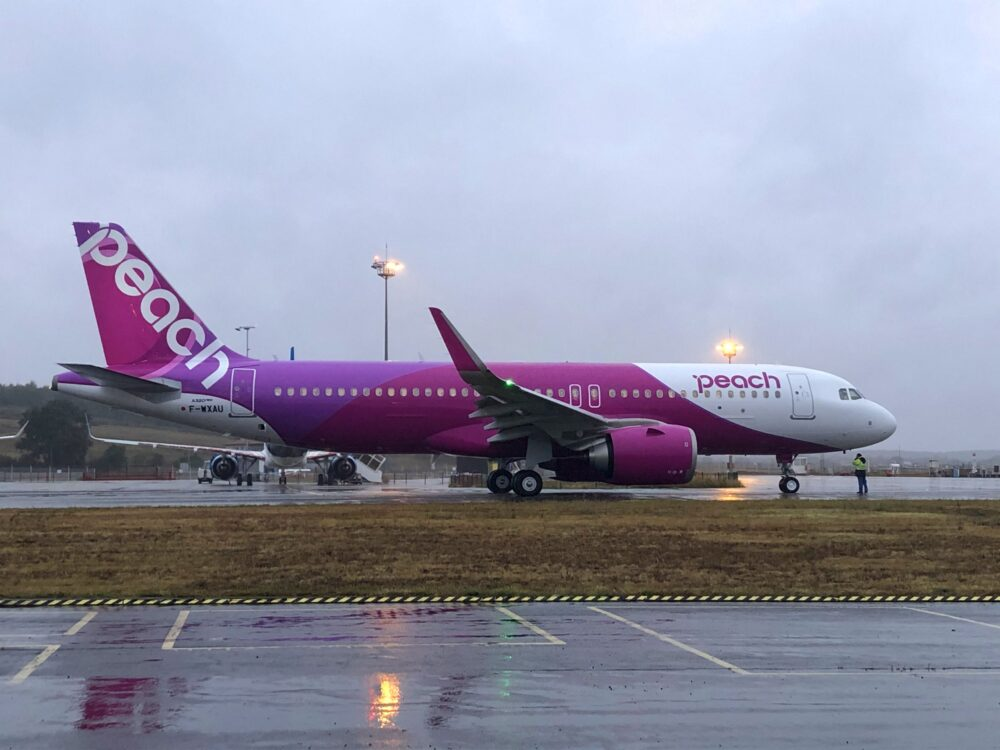 Air Lease Corporation Delivers New Airbus A320neo To Japan's Peach