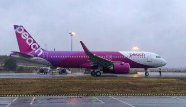 Peach Aviation First A320neo
