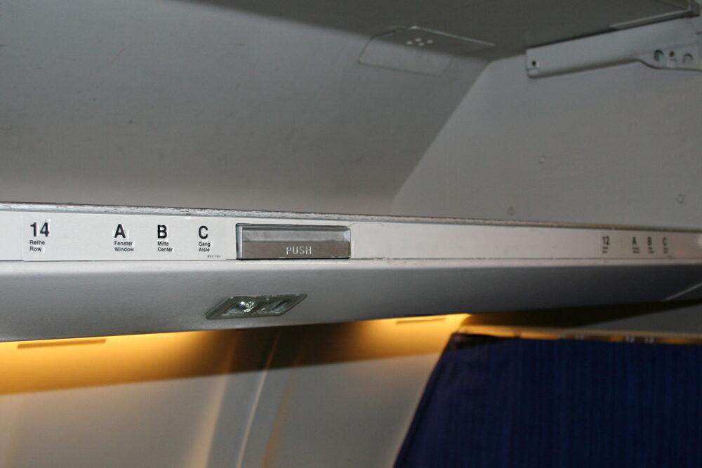 Lufthansa row 13