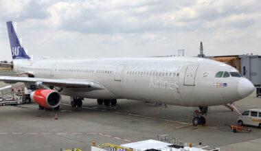 SAS A340 retirement