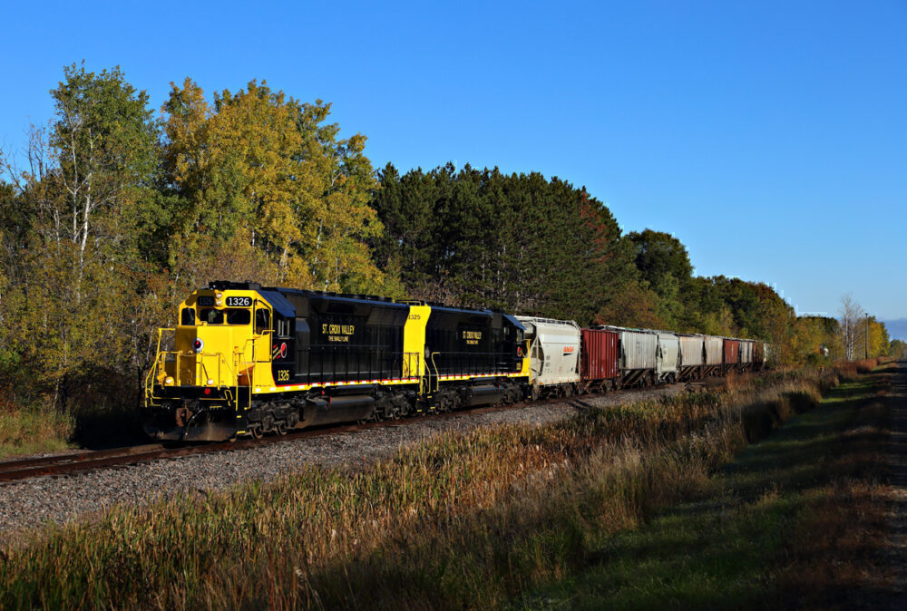 US freight train