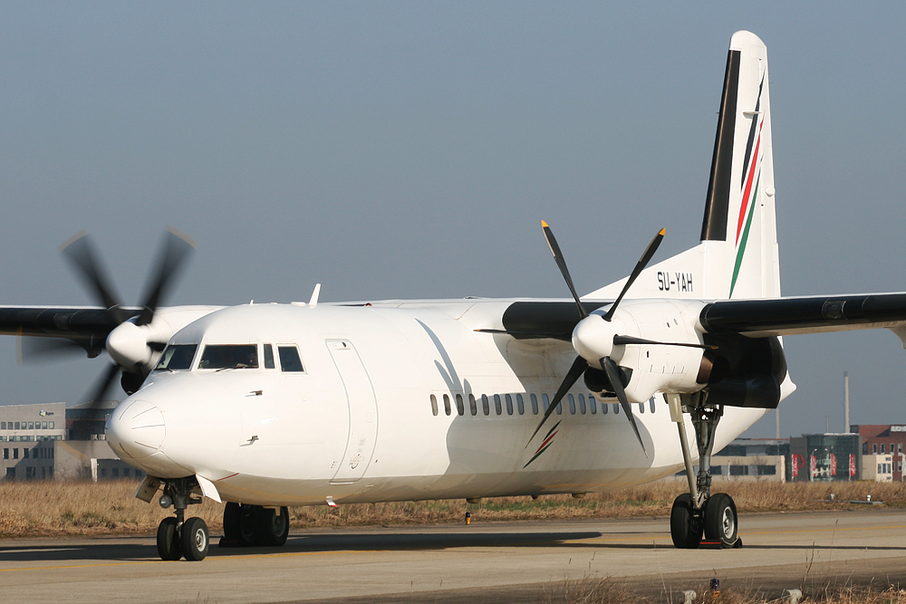 Palestinian Airlines Fokker F50