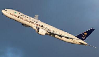 Saudia Boeing 777-368(ER)