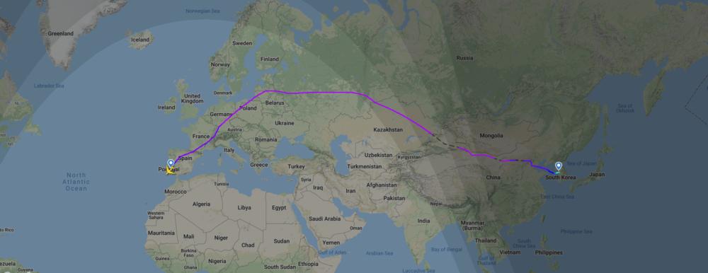 Hi Fly A380 Seoul