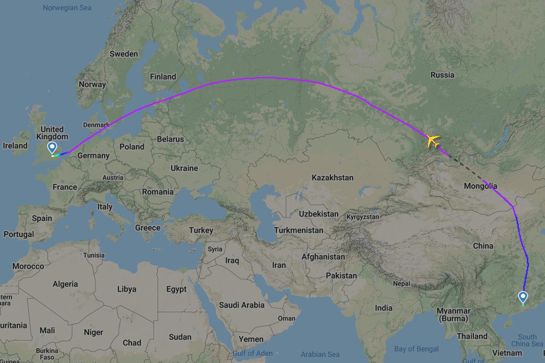 China Southern, Airbus A380, London Heathrow