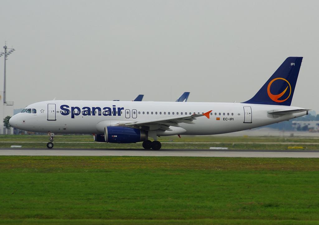 Spanair A320