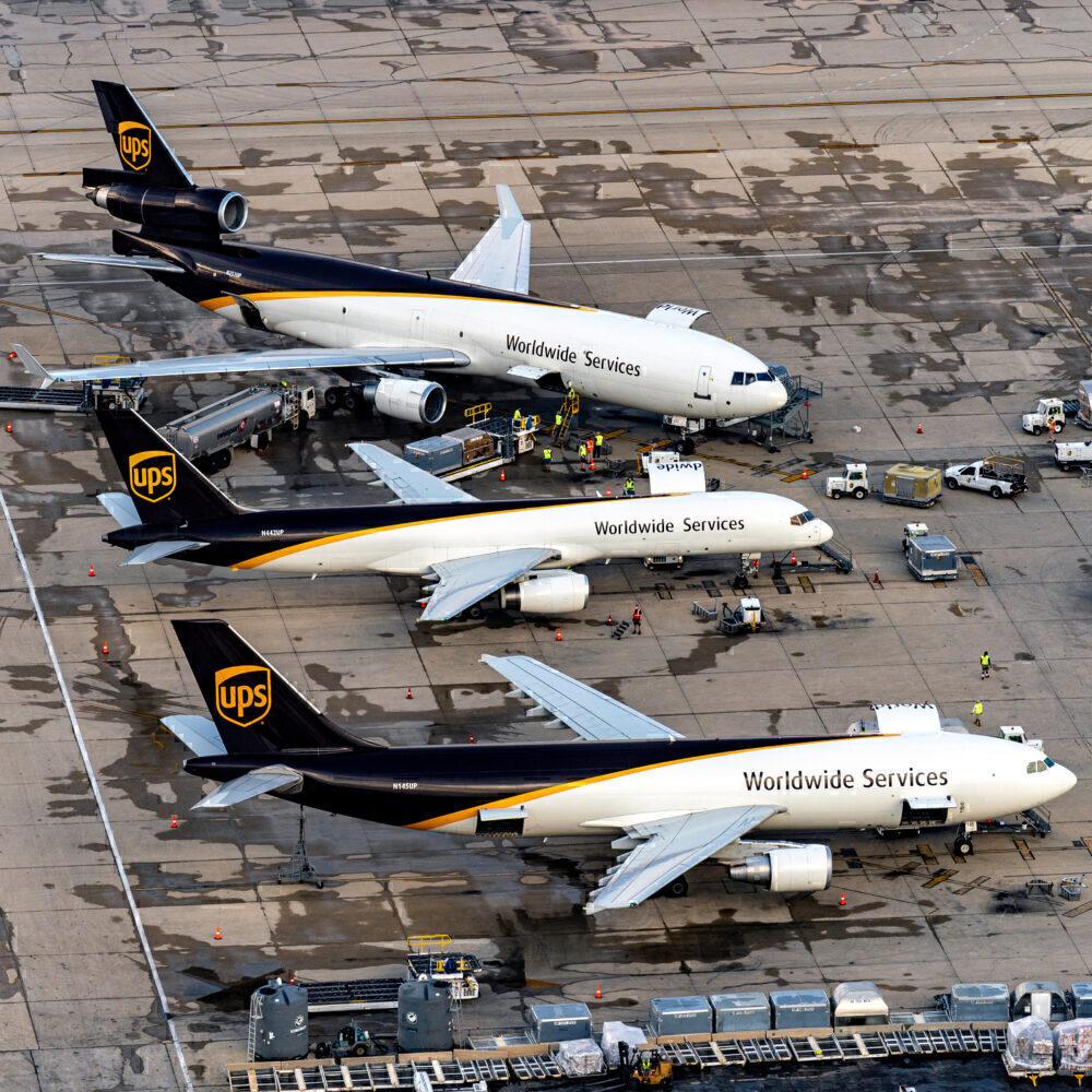 UPS Boeing 757-