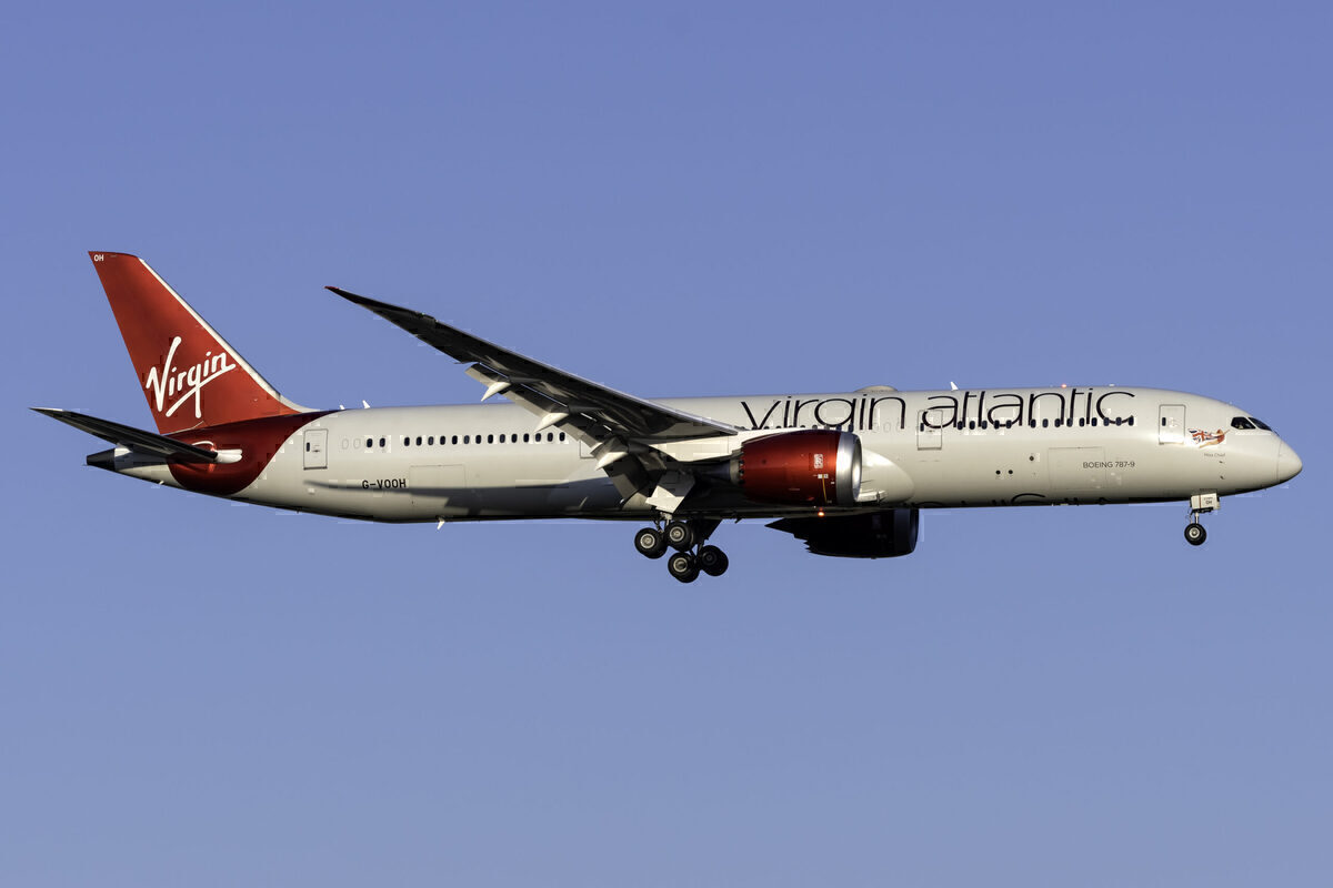 Virgin Atlantic, Boeing 787, Sale