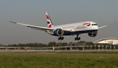 British Airways, Boeing 787-9, Slat issue
