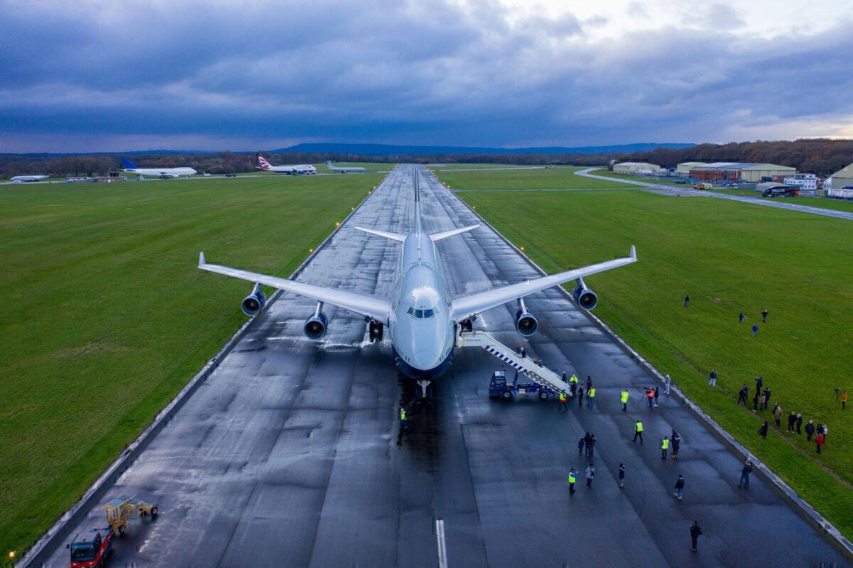British Airways, Landor, Final Flight