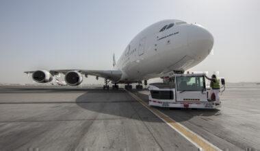 Weighing a plane