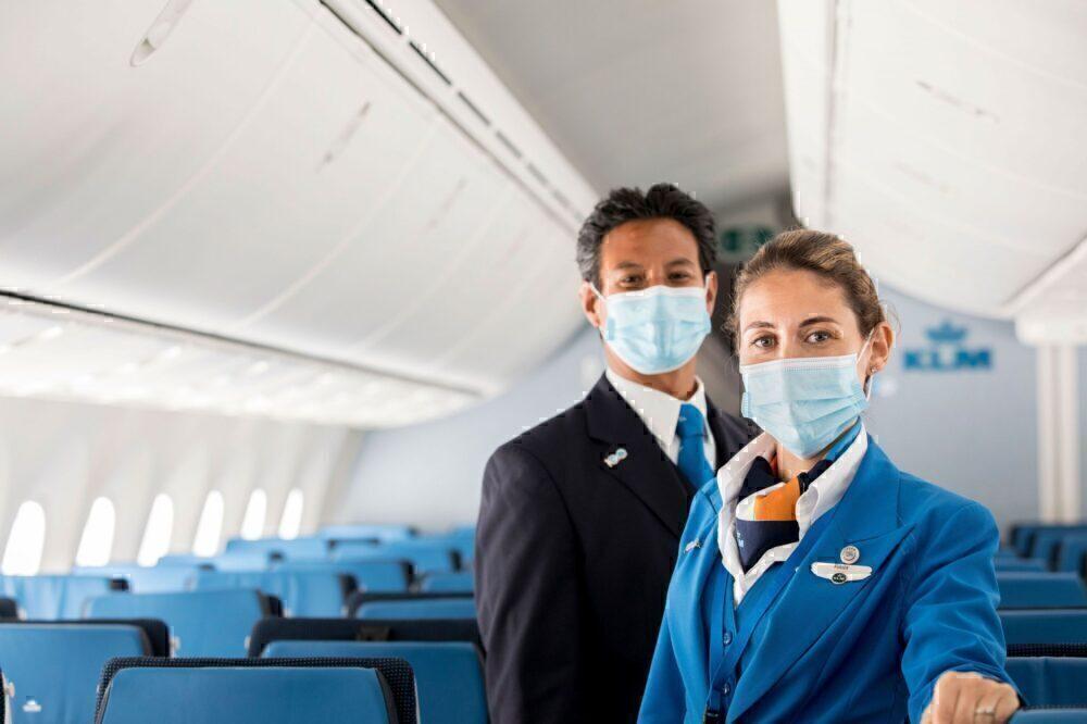 KLM crew