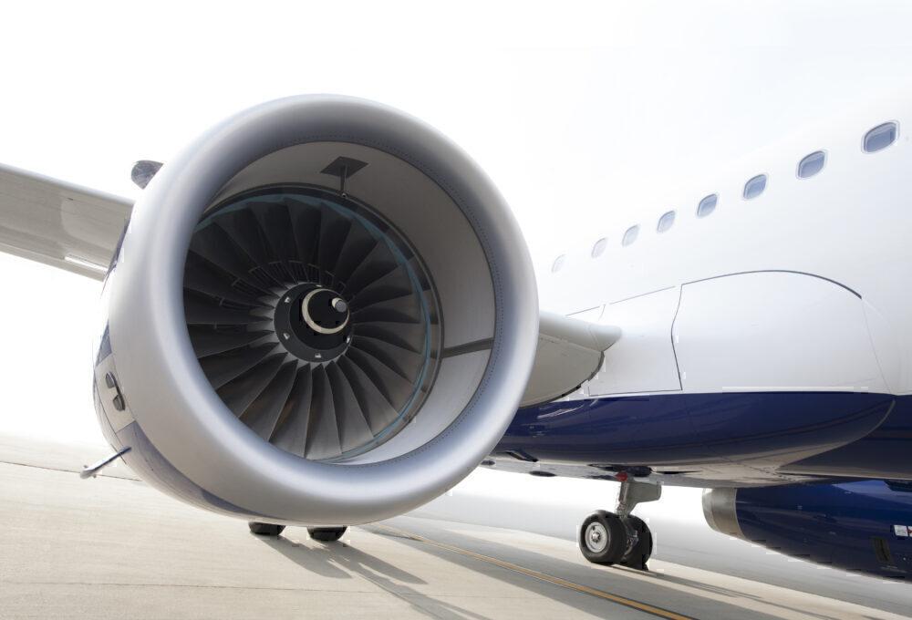 JetBlue A321 Engine
