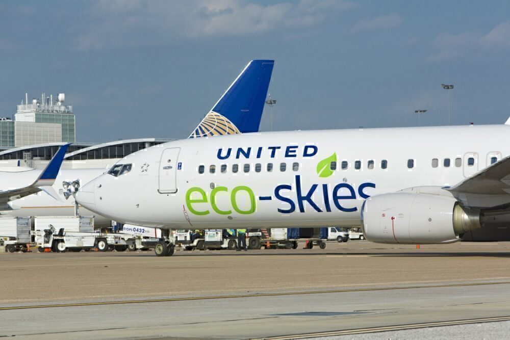 United Airlines 100% green by 2050
