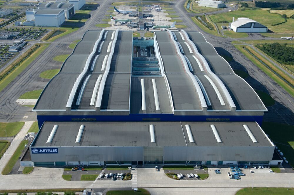 A380 Assembly Line