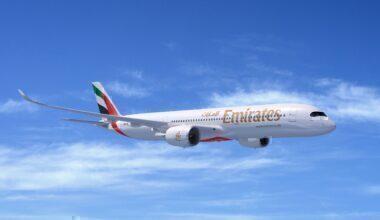 Emirates A350-900