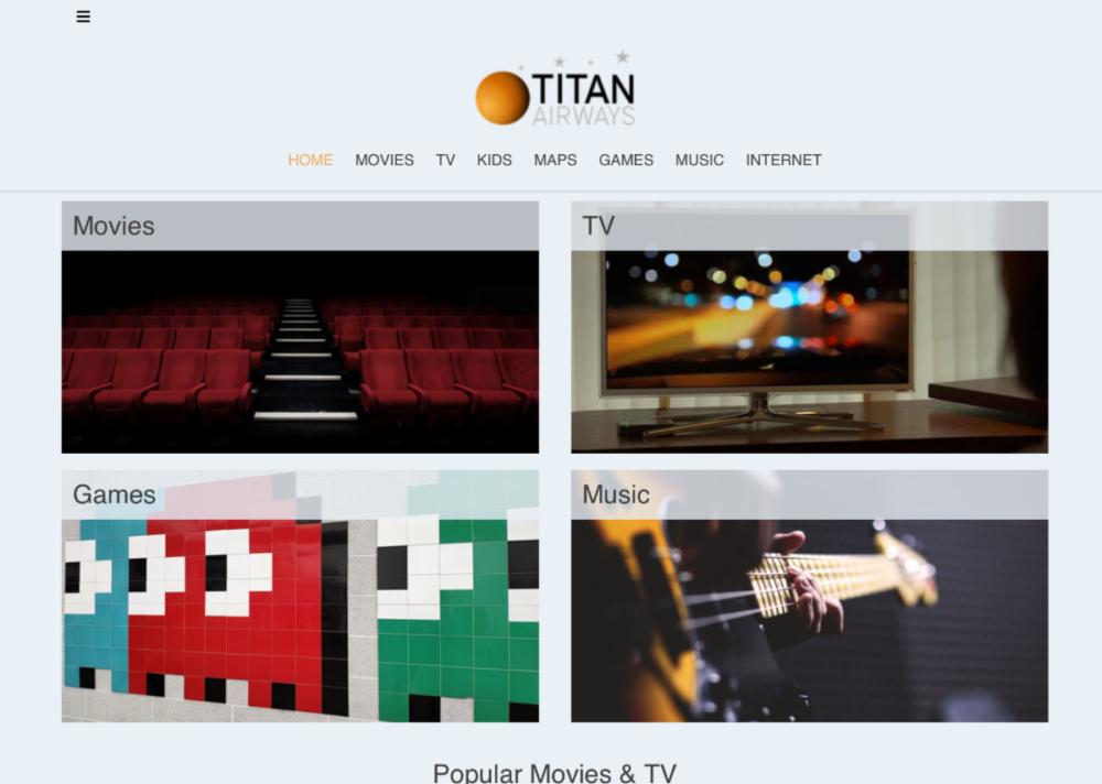Titan Bluebox IFE