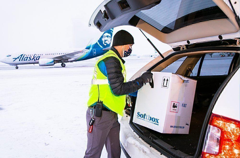 Vaccine distribution Alaska