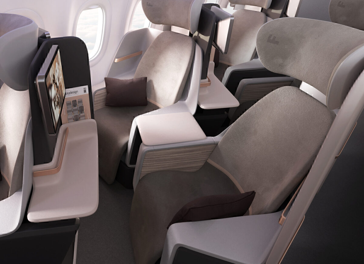 How To Give All Passengers Aisle Access With A 2-2 Seat Configuration