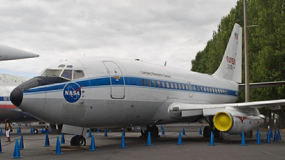 Boeing 737-100 NASA