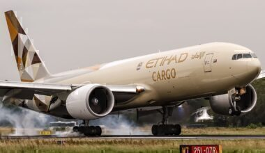 Etihad 777F