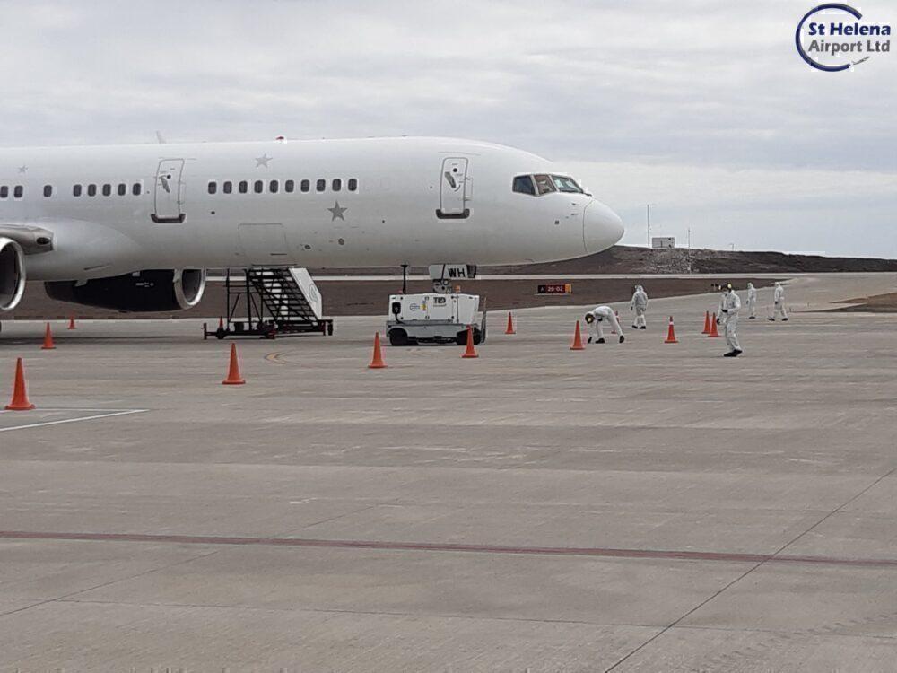 Titan Airways Saint Helena