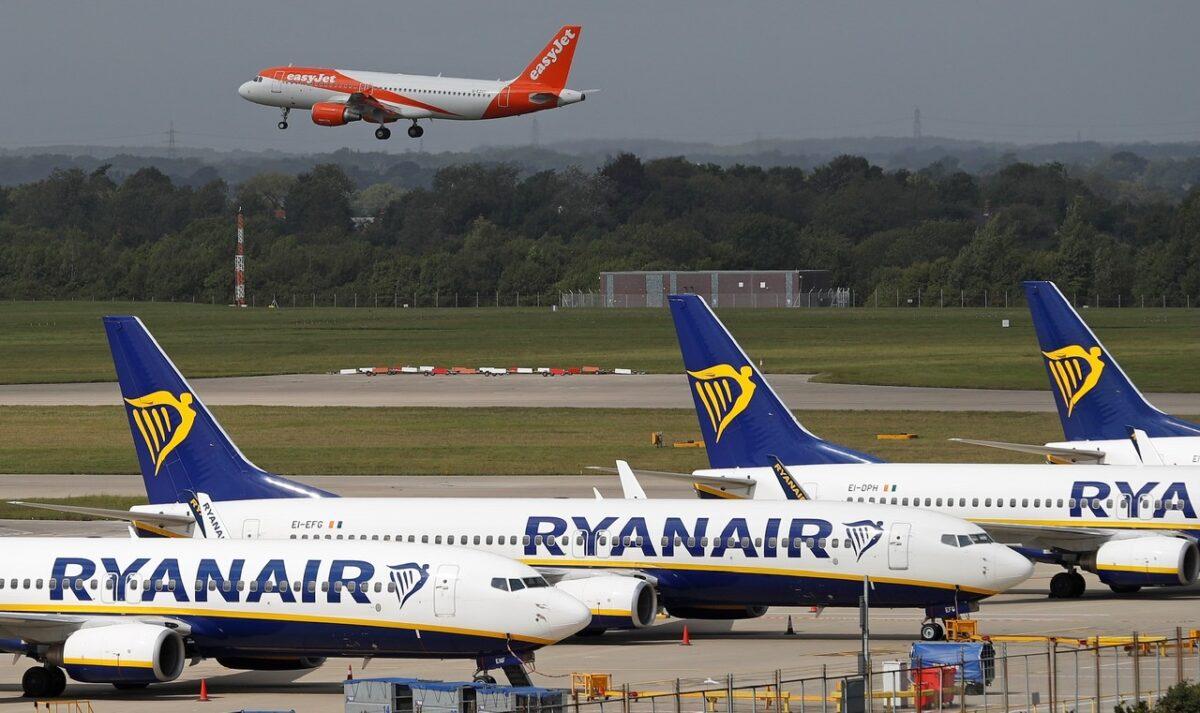 easyJet and Ryanair