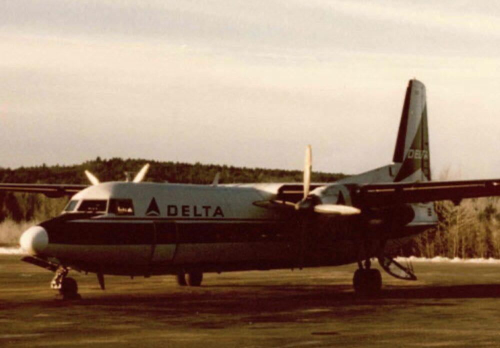 Delta Air Lines Fairchild-Hiller FH-227B