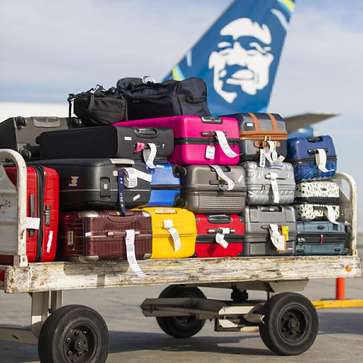 Alaska Airlines luggage