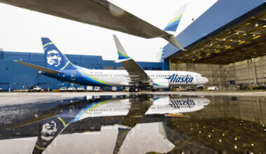 Alaska Airlines first Boeing 737 MAX