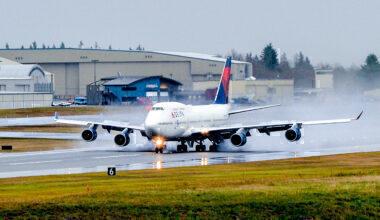 Delta Boeing 747-400