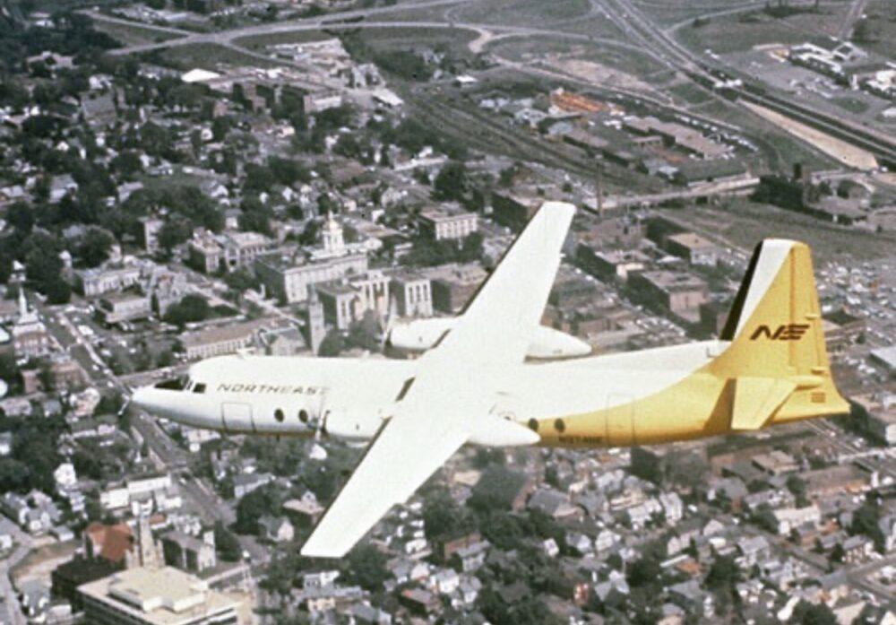 Northeast Fairchild-Hiller FH-227B