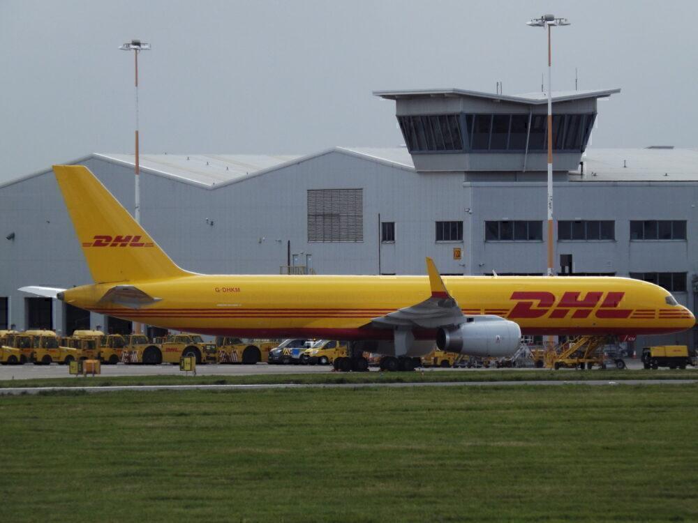 DHL Boeing 757F East Midlands
