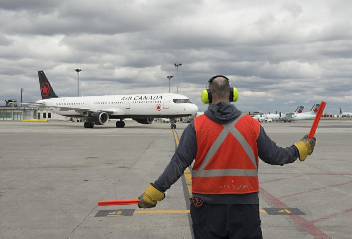 Air Canada Airbus 321
