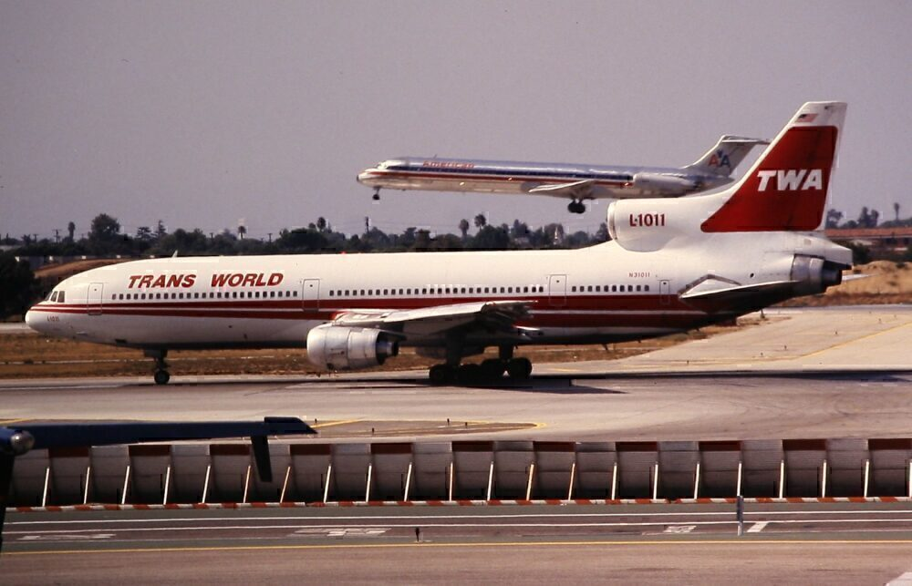 TWA Trans World Airlines Lockheed L1011 Tristar Los Angeles 1992