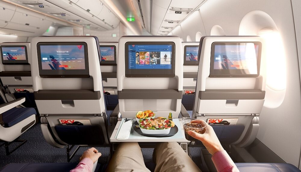 Delta A350 Interior