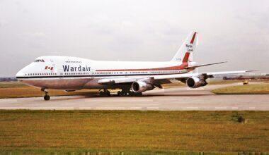 Wardair Boeing 747 Birmingham