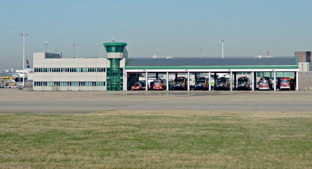 Heathrow fire station