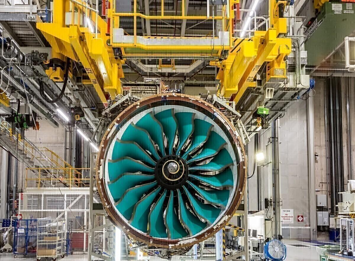 Rolls-Royce, UltraFan, Testbed 80, Motor