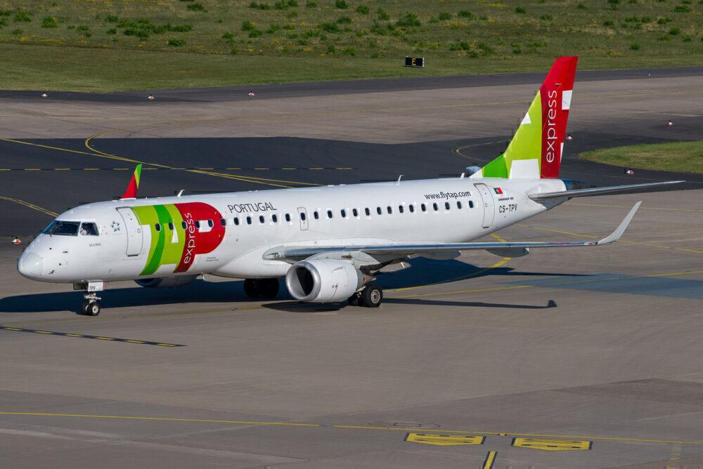 Portugalia TAP Express Embraer 190
