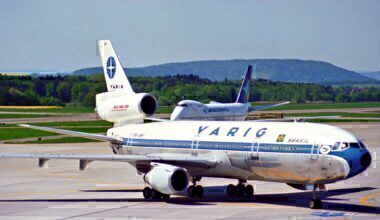Varig DC-10 Zurich 1995